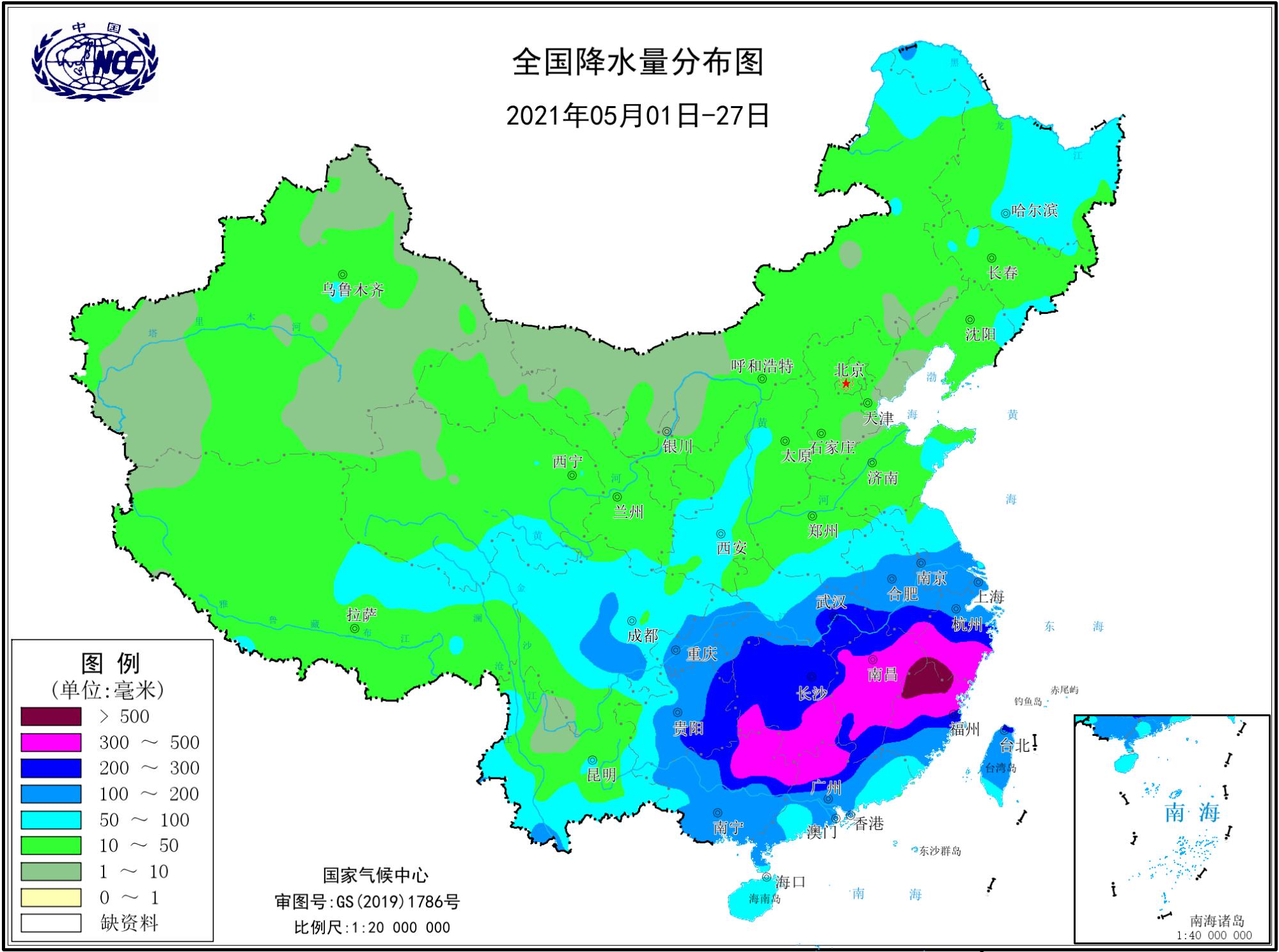 9省区79条河流发生超警洪水,为什么降雨这么多?