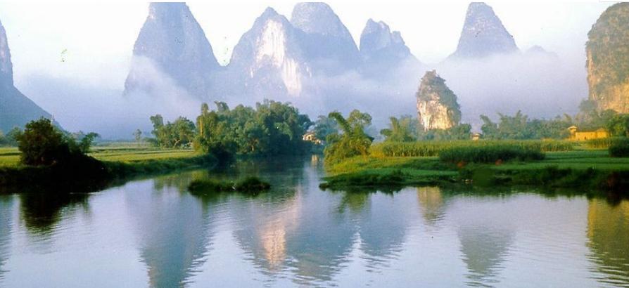 有哪些关于赞美山水好风景的诗句