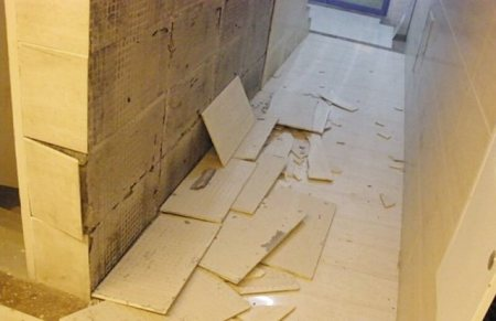 新装修的房子为什么会出现瓷砖脱落?