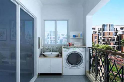 洗衣机放在阳台下水怎样做好?