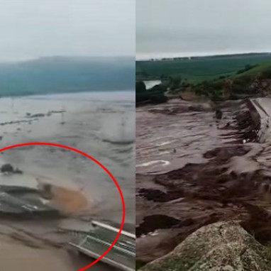 内蒙古两座水库决堤,洪水冲垮国道,为什么没有提前泄洪?