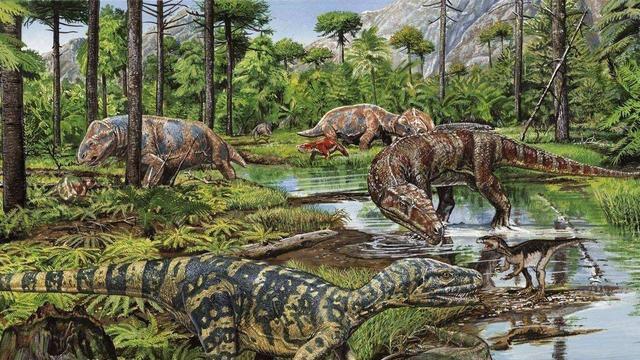 地球歷史上的一場大暴雨,持續200萬年,仿佛專門為恐龍而下