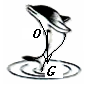 一只海豚跃出水面,如图所示,请画出海豚此时受到的力的示意图。