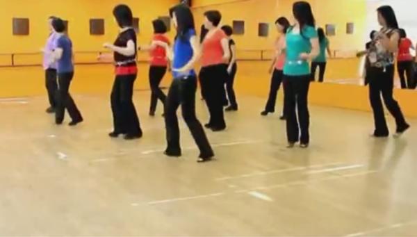 哑巴新娘广场舞教学 十六步舞分解动作