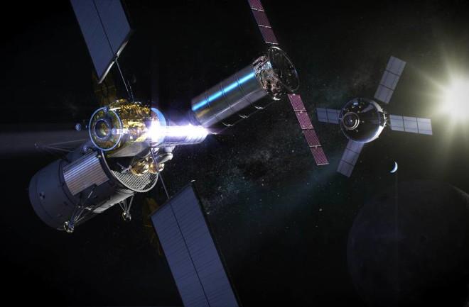 NASA月球网关:月球轨道空间站将代替地球空间站?