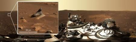 """火星发现""""海豹岩石"""",是火星人存在的证据吗?"""