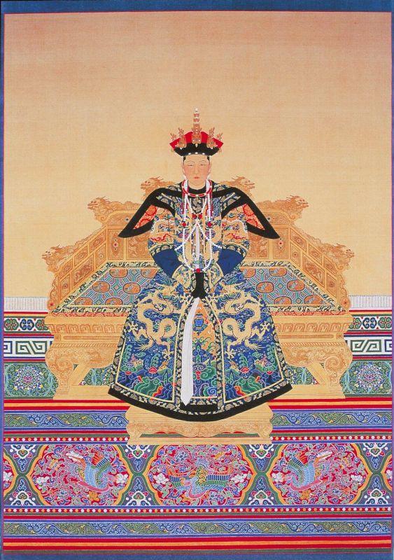 康熙的第一位皇后赫舍里氏图片