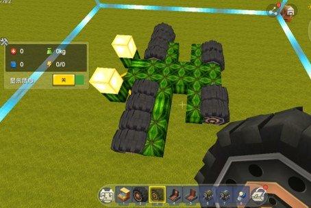 【迷你世界移动方块怎么制作车】迷你世界里怎样造能开的车?插图(3)