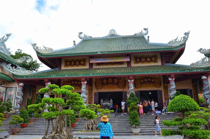 山茶半岛灵应寺为什么是华人建造?