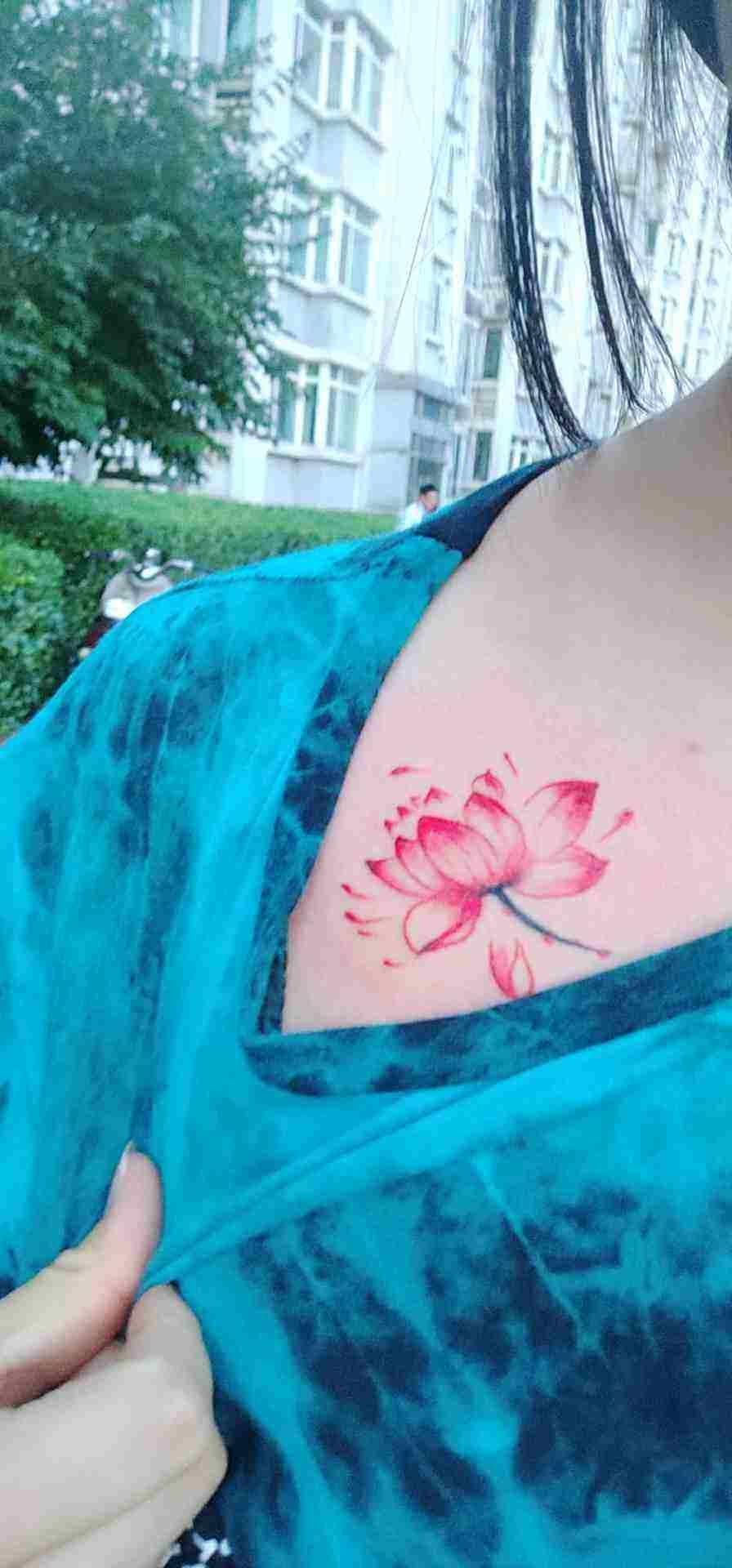 纹彩绘纹身5厘米大概多少钱?
