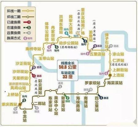 重庆轨道环线旅游,沿途美景你了解多少?