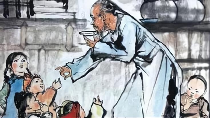 """鲁迅在小说中写到""""大约孔乙己的确死了"""",这算病句还是笔误?"""