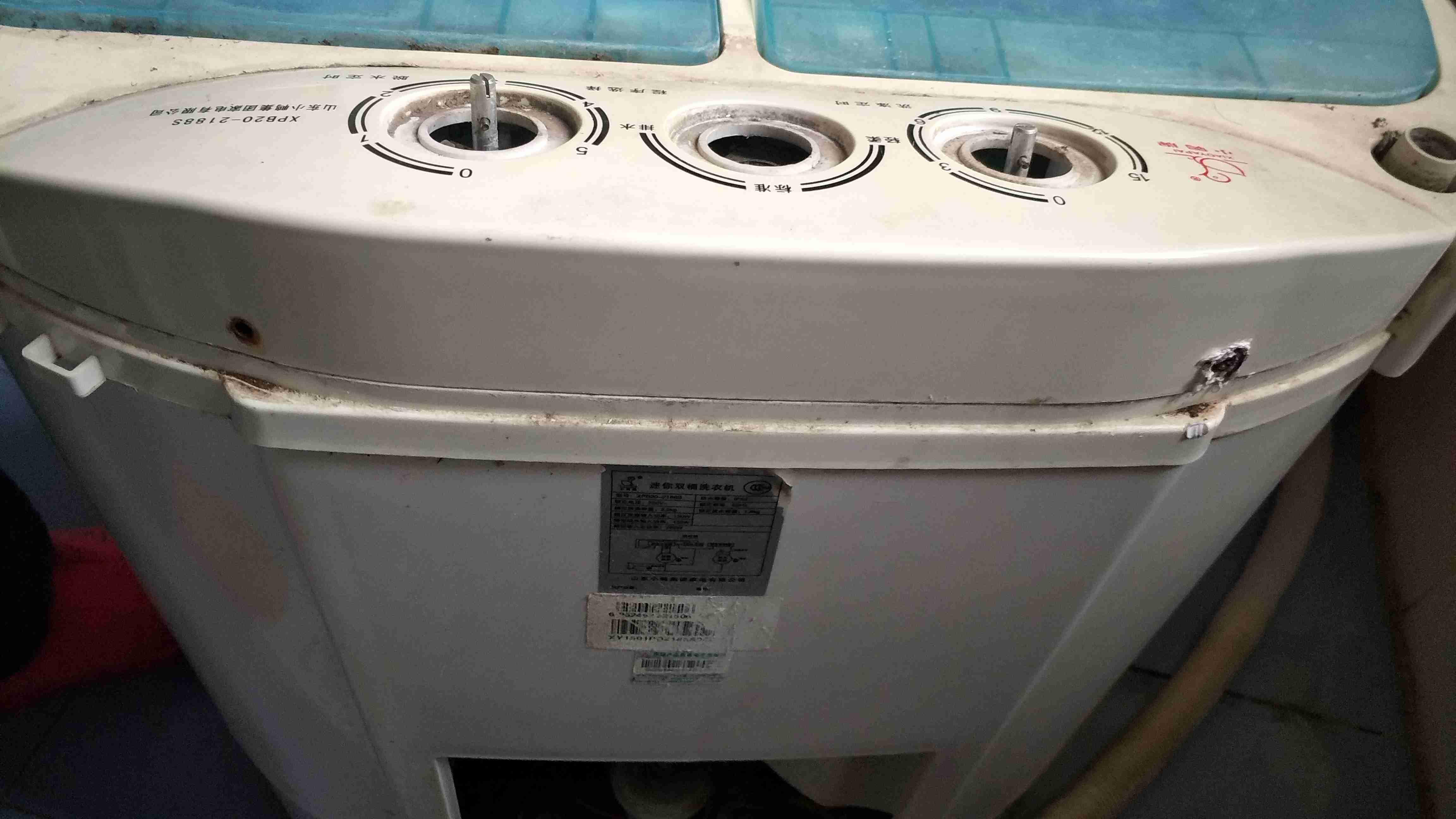 双桶洗衣机电容接线图