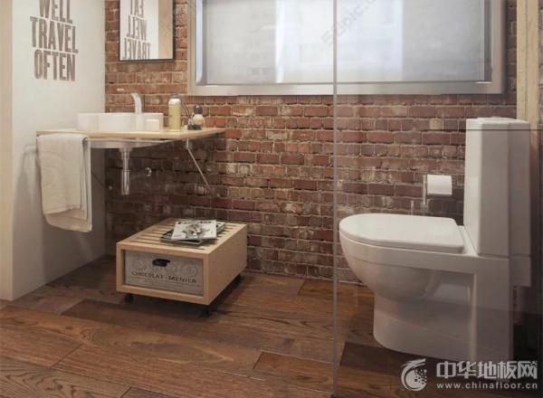 当下流行卫生间装修铺地板 如何正确选购防水木地板?
