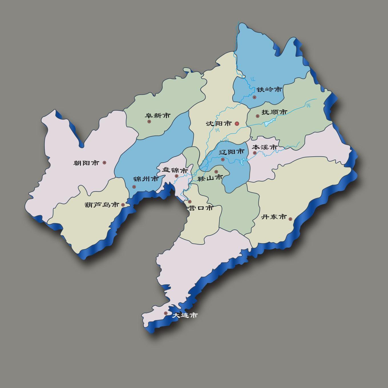 辽宁省地图