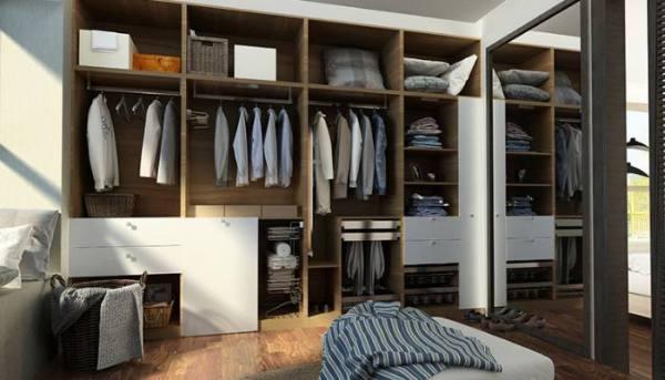衣柜一共有哪些款式?