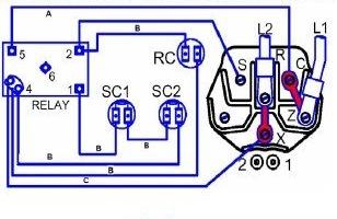 空调压缩机接线怎么接?