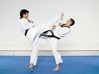 空手道和跆拳道有什么区别,看上去差不多