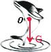 (1)一只海豚跃出水面,如图1所示,请画出海豚此时受到的力的示意图.(2)以O 为支点质量忽略不计的...