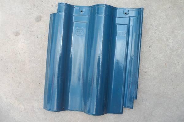 自建房用蓝色琉璃瓦做平房翻檐效果怎么样?