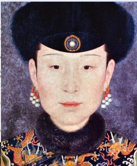 「清朝皇帝后宫妃子」清朝皇帝后宫排列~
