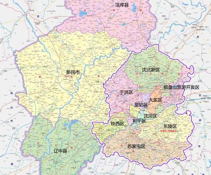 沈阳技术推广,沈阳市有几个区?都是什么区?
