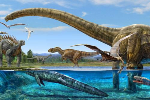 太空发现恐龙,骸骨至今未腐化,是谁用飞船将恐龙送上太空的?
