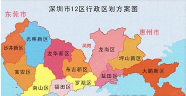 深圳凤岗属于哪个区!