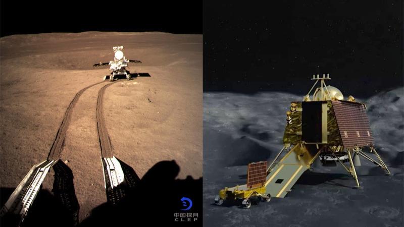 月球背面和月球南极,哪一个更难登陆?