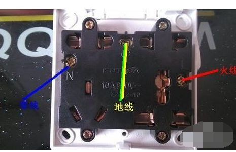 怎么用电笔测零线和地线?