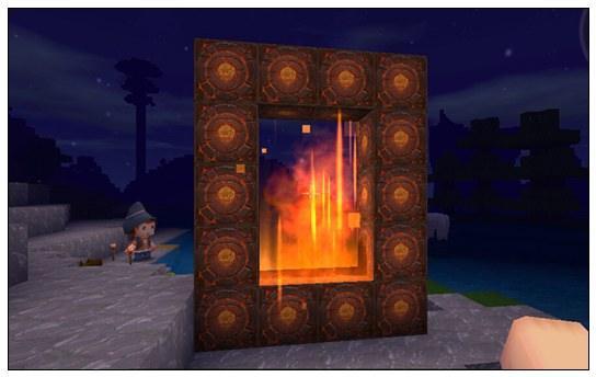 【迷你世界怎么制作地下机关门】迷你世界地狱门怎么做?插图