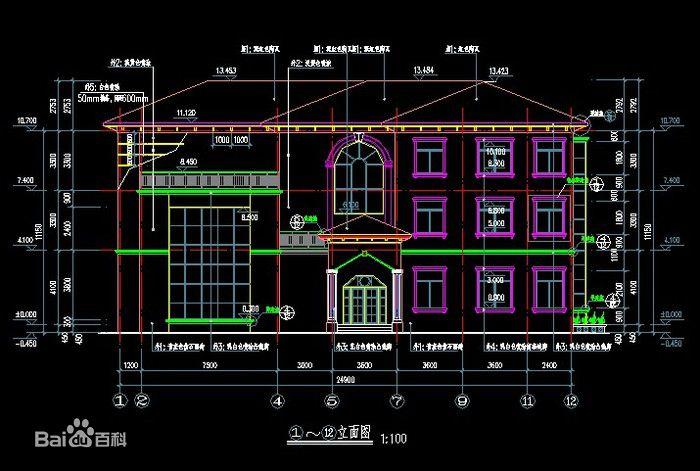 建筑施工图纸符号大全