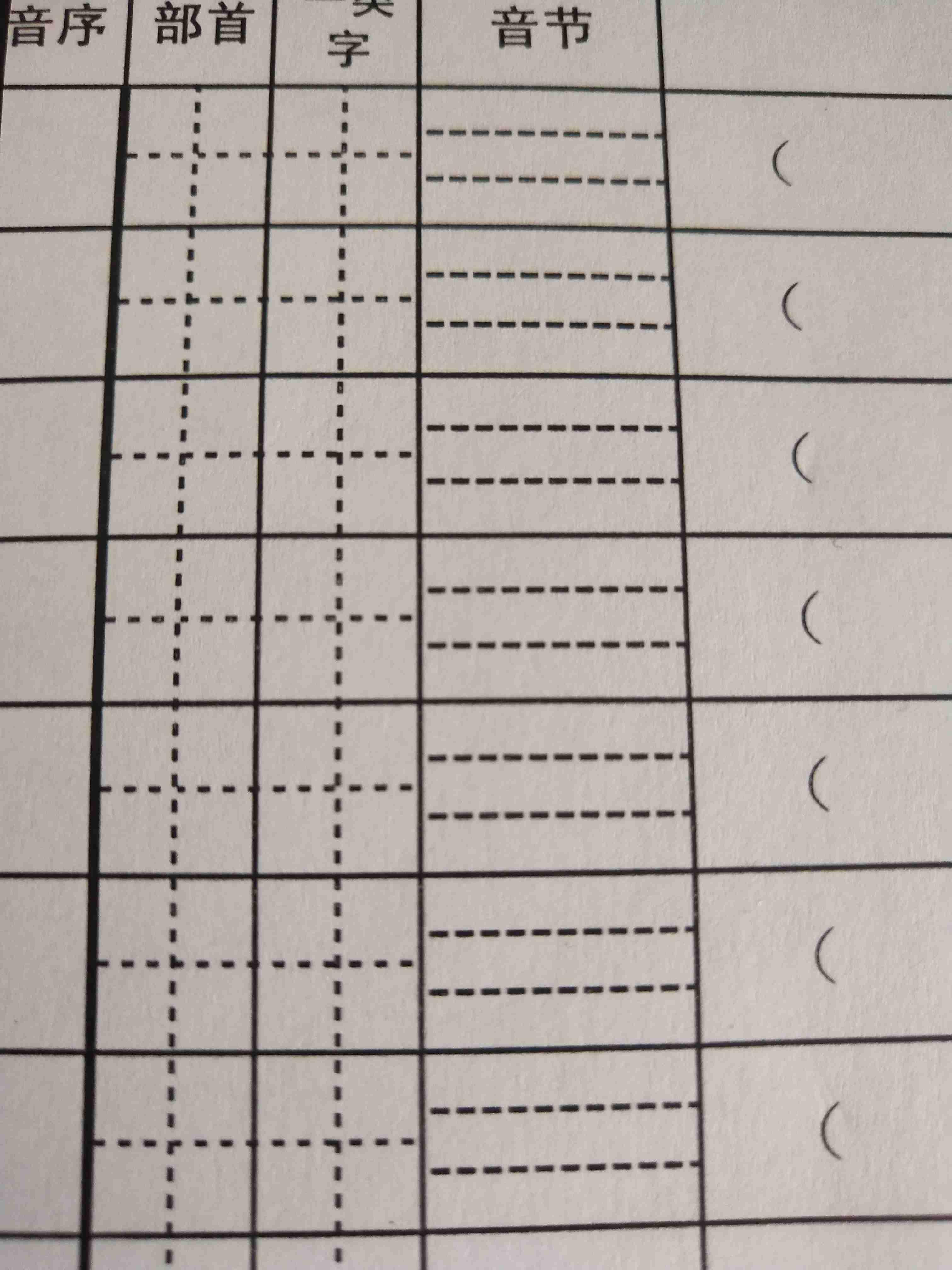 怎样把田字格和拼音格放在一列图片