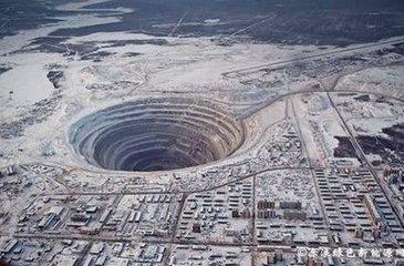 「地球最深的洞」世界上人类挖的最深的洞,要图片。