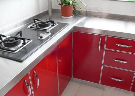 不锈钢整体厨房, 如何选购不锈钢厨柜台面?