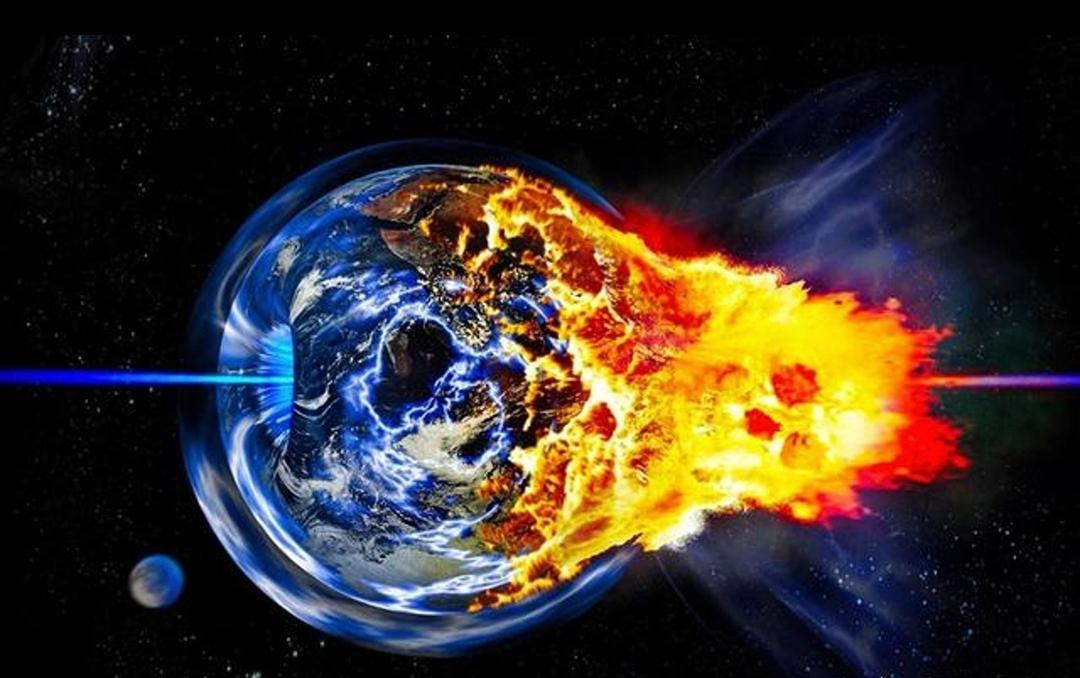 一根绣花针以光速击中地球,会怎样?