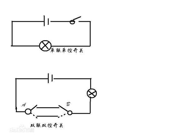 单联开关接线图是怎样的?