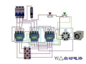 在不改变星三角的情况下,用变频器控制电机运转如何接线?