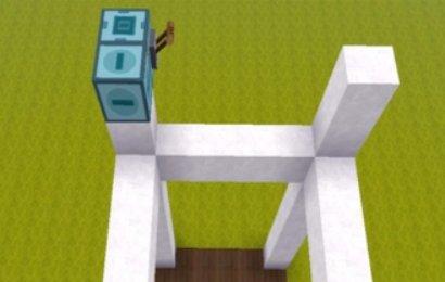 【迷你世界升降电梯教】迷你世界如何做自动电梯?插图(2)