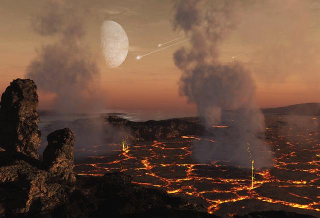 """地球曾遭受小行星""""狂轰滥炸"""",或已影响氧气水平"""