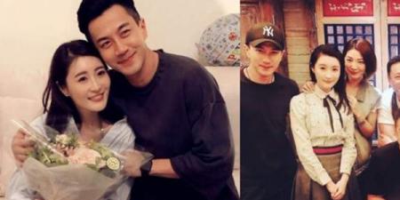 刘恺威现身好友生日会,身旁女星是谁?