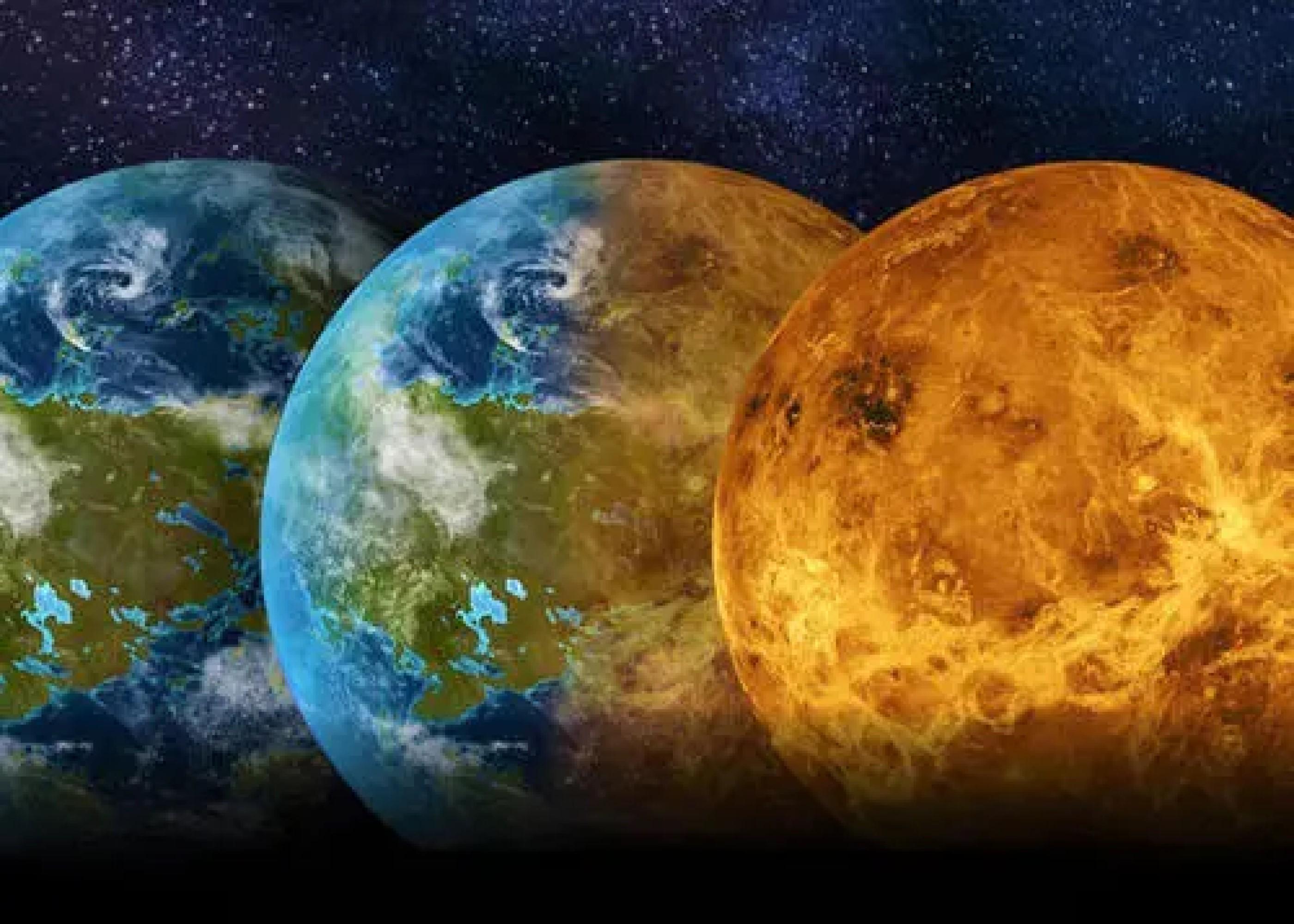 金星和火星的变迁,就是地球的今天和未来,人类将走向何方?
