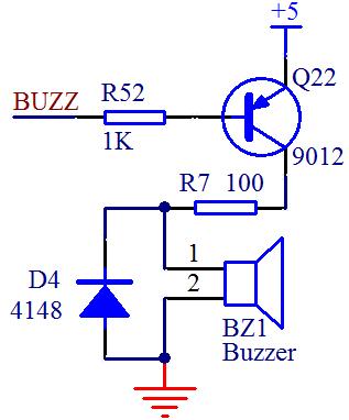 单片机驱动蜂鸣器电路?