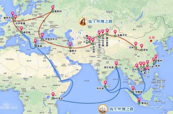 有关丝绸之路的历史故事