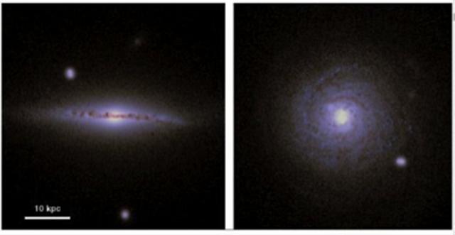 在银河系这样的星系中,生命可以自然传播多远?