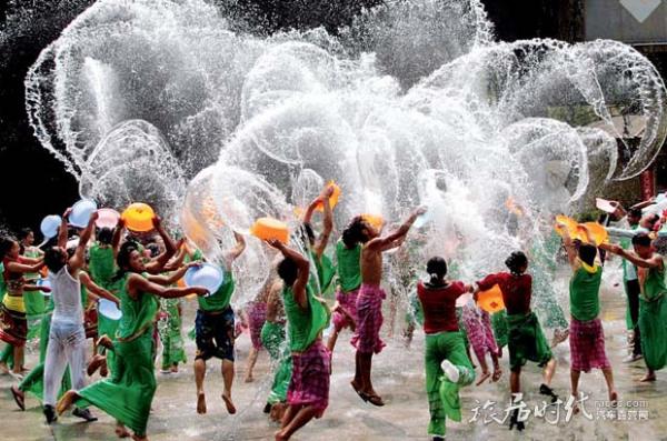 泰国泼水节和傣族泼水节一样么?
