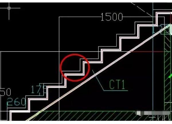 楼梯踏步盘算公式图解插图6