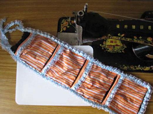 墙上挂代做法,怎么手工制作挂在墙上的收纳袋装