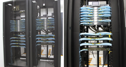 网络机柜与服务器机柜之间如何布线
