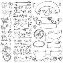 手抄报图片简单又漂亮,求比较漂亮,但比较简单的小装饰图案,装饰手抄报和书签。求图!